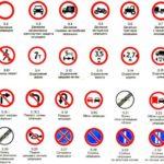 Определение зоны действия запрещающих знаков в ПДД