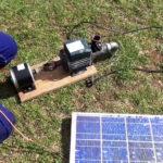 Как сделать насос на солнечной энергии для поливки огорода