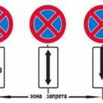 Описание знака «Остановка запрещена» и зона действия по правилам ПДД