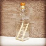 Как засунуть лестницу в бутылку