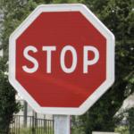 Обозначение знака «Стоп» и штраф за не остановку
