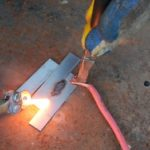 Сварочный аппарат на 12 В из батарейки для сварка тонкого металла