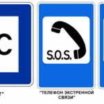Дорожные знаки сервиса: описания и фото