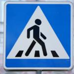 Знаки регулирующие движение пешеходов