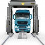 Мойка для грузовых автомобилей, её виды