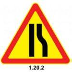 Временные знаки дорожного движения по ПДД