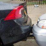 Как поступить, если поцарапали машину