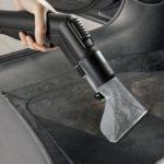 Химчистка салона автомобиля моющим пылесосом