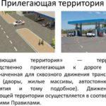 Определение прилегающей территории в ПДД, правила движения на данном участке