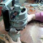 Мощный фрезер из двигателя стиральной машинки