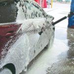Сколько стоит помыть машину на мойке