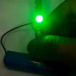 Простенькая светодиодная мигалка на оптопаре