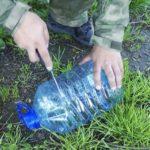 Как поймать рубу с помощью пластиковой бутылкой