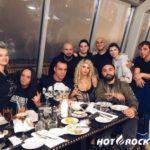Участники Lindemann побывали на Дне рождения Loboda