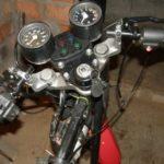Выпрямление руля мотоцикла