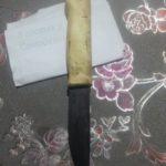 Нож из ШХ20СГ с ручкой из капа клена