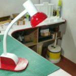 Как сделать настольную лампу из подручных средств