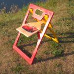 Как сделать складной стул из фанеры