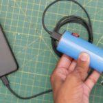 Делаем походную динамо-машинку для зарядки телефона своими руками