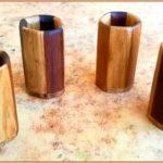 Эксклюзивные деревянные стаканчики своими руками