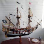 Модель пиратского фрегата