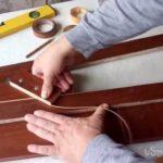 Кромочный нож для быстрой обработки ламинированного ДСП