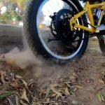 Электрический велосипед с мотором от гироскутера