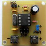 Высокоточный генератор ШИМ с кнопочным контролем