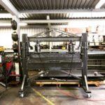 Как сделать 40-тонный пневматический листогибочный пресс