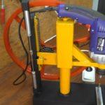 Автоматический сверлильный станок из амортизатора