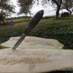 Опыт ковки ножа из клапана (попался впускной клапан)