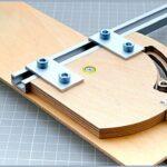 Универсальная угловая направляющая для фрезера, лобзика, дисковой пилы