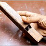 Шлифовальный блок с системой натяжения наждачной бумаги своими руками