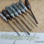 Ручки для надфилей из баллончиков