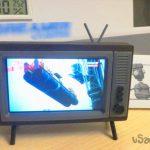 Самодельный держатель в стиле «ретро ТВ» для старого смартфона